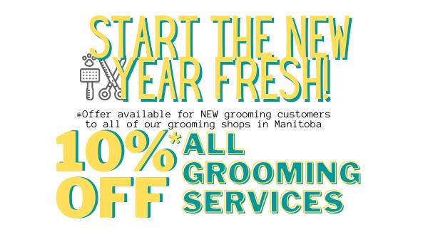 Grooming 10% OFF
