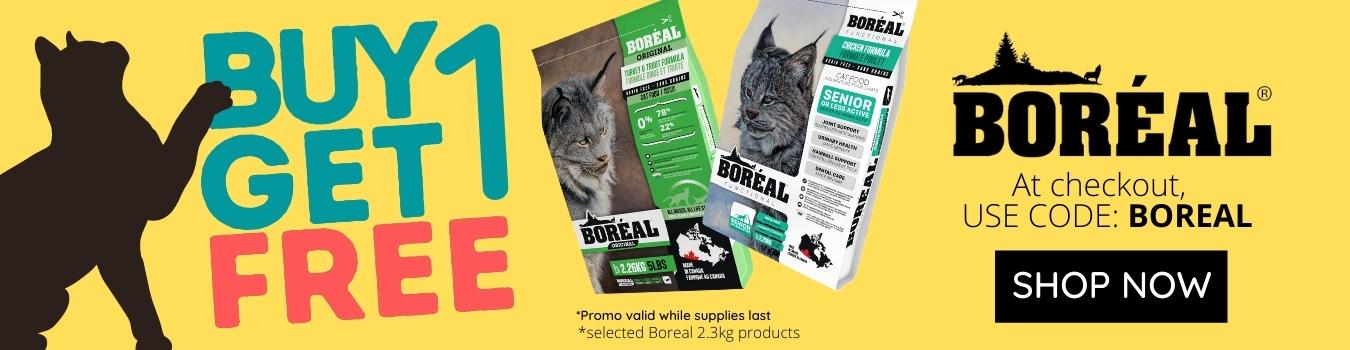 boreal promo cat food