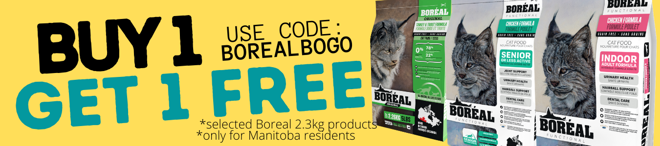 Boreal Pet foods buy one get one