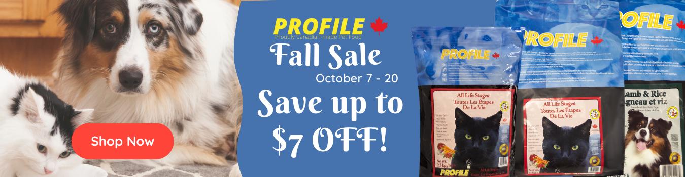 Fall Sale Profile