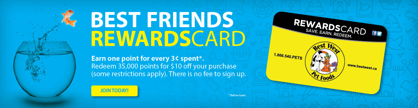 best friends rewards card