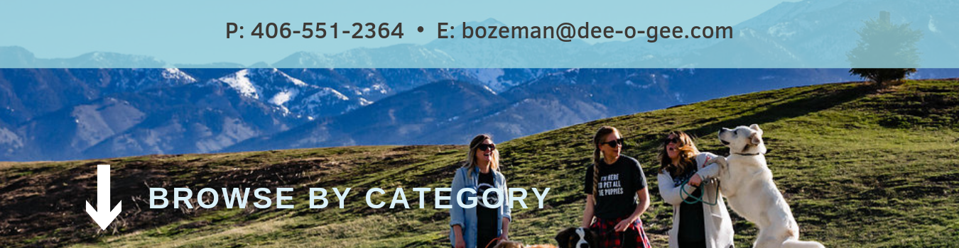 Browse by category Dee-O-Gee Bozeman shop online