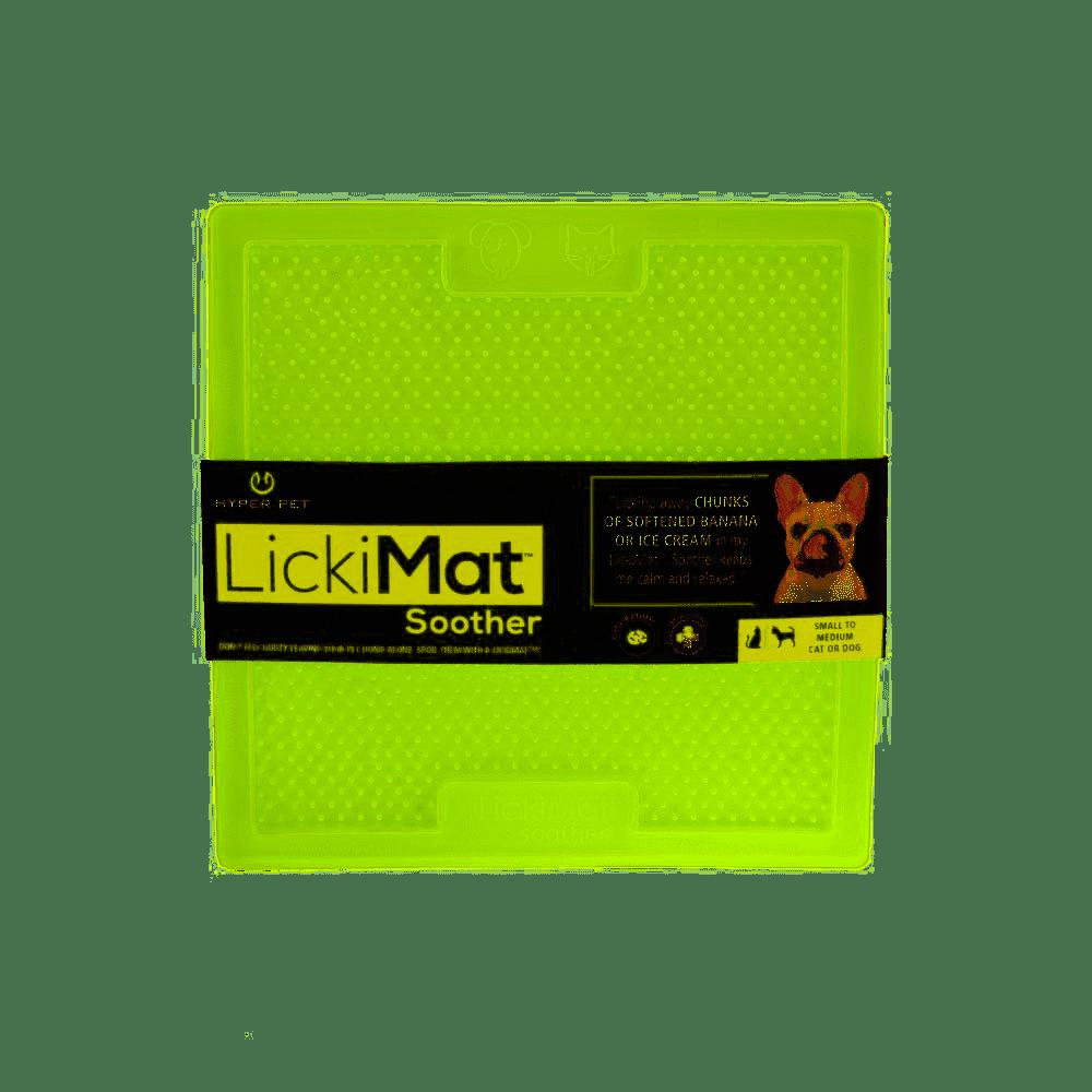 Hyper Pet LickiMat Soother Slow Feeding Mat, Green