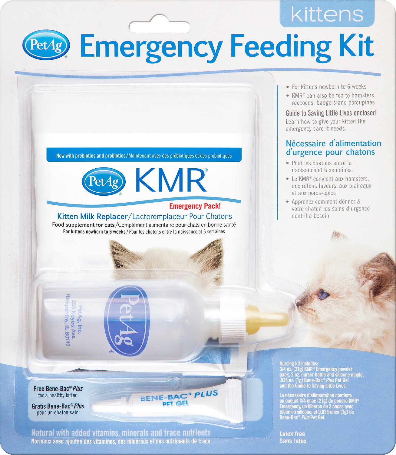PetAg KMR Emergency Feeding Kit for Kittens Image