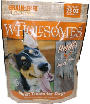 SPORTMiX Wholesomes Heidi's Chicken Jerky Sticks Dog Treat, 25-oz