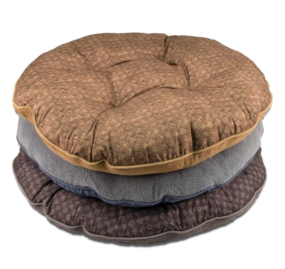 Dallas Manufacturing Company Tufted Round Pet Bed, 35-in
