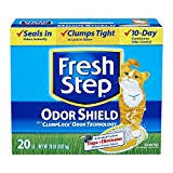 Fresh Step Odor Shield Unscented Scoopable Cat Litter, 20-lb