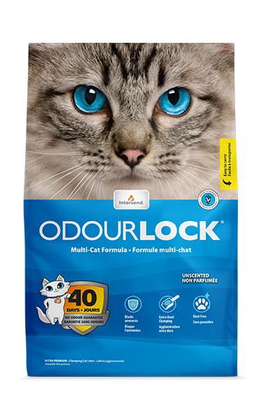 Odourlock Unscented Cat Litter, 13-lb