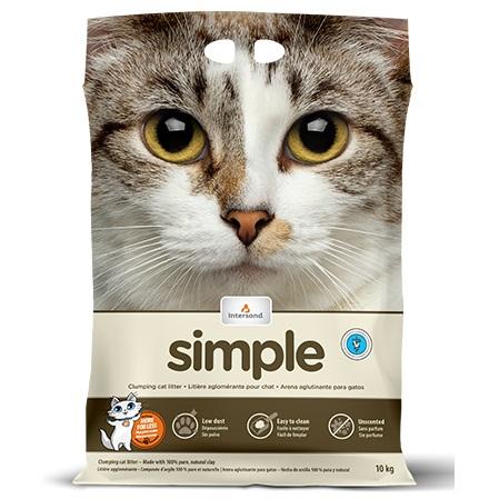 Intersand Simple Cat Litter, 40-lb (Size: 40-lb) Image
