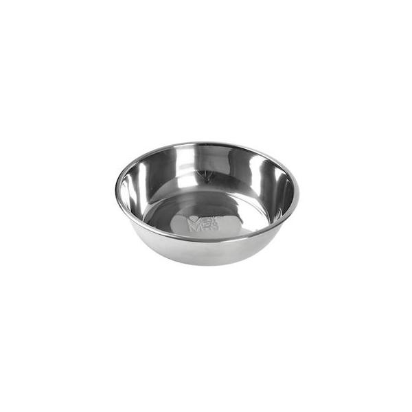 Messy Mutts Stainless Steel Dog Bowl, Large