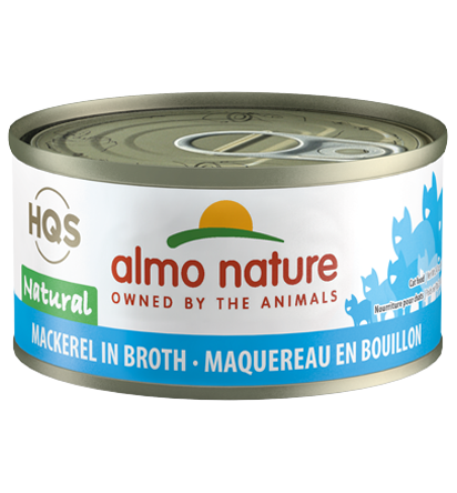 Almo Nature Legend 100% Natural Mackerel Adult Grain-Free Wet Cat Food, 2.47-oz