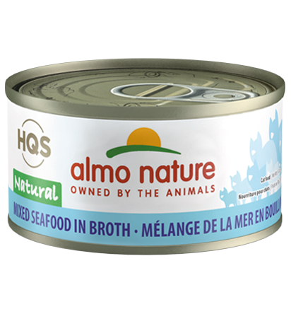 Almo Nature Legend 100% Natural Mixed Seafood Adult Grain-Free Wet Cat Food, 2.47-oz