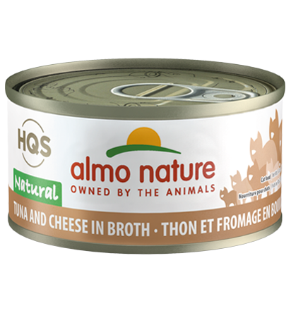 Almo Nature Legend 100% Natural Tuna with Cheese Adult Grain-Free Wet Cat Food Image