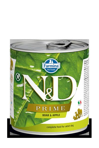 Farmina N&D Prime Boar & Apple Wet Dog Food, 10-oz