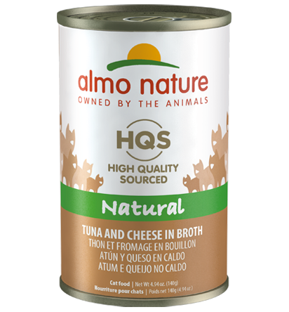 Almo Nature Legend 100% Natural Tuna with Cheese Adult Grain-Free Wet Cat Food, 4.94-oz