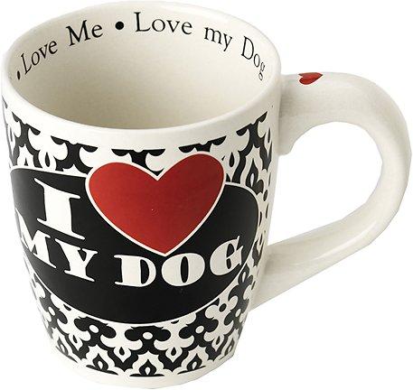"PetRageous Designs ""I Love My Dog"" Jumbo Coffee Mug, 28-oz"