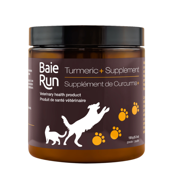 Baie Run Turmeric+ Dog Supplement, 150-gram