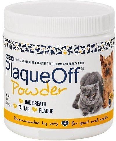 ProDen PlaqueOff Powder Dog & Cat Supplement, 180-g jar