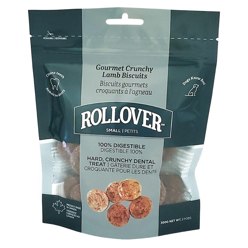 Rollover Premium Gourmet Crunchy Lamb Biscuits Dog Treats Image
