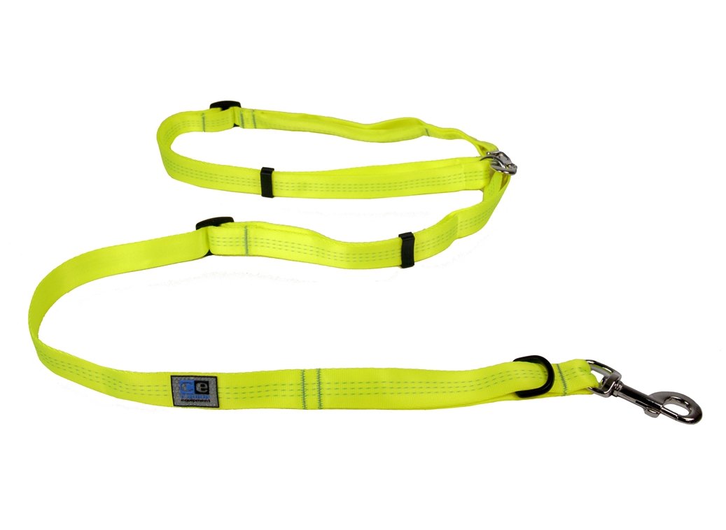 RC Pet Products Beyond Control Dog Leash, Neon Yellow, 3/4-in
