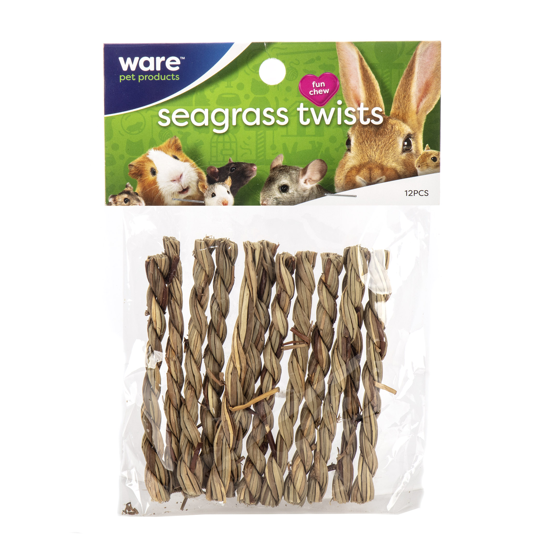Ware Seagrass Twists, Sundried Small Pet Chew Toy Image