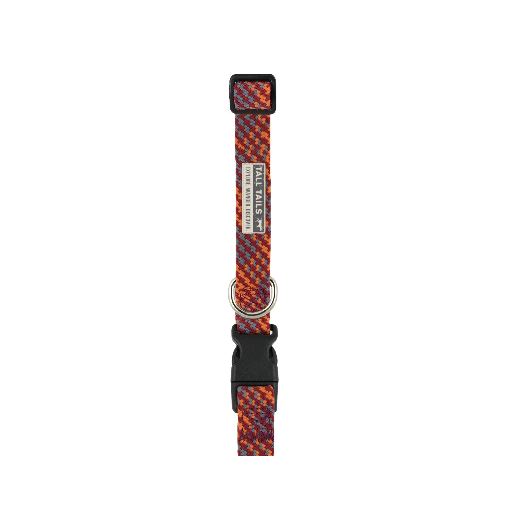 Tall Tails Braided Dog Collar, Small