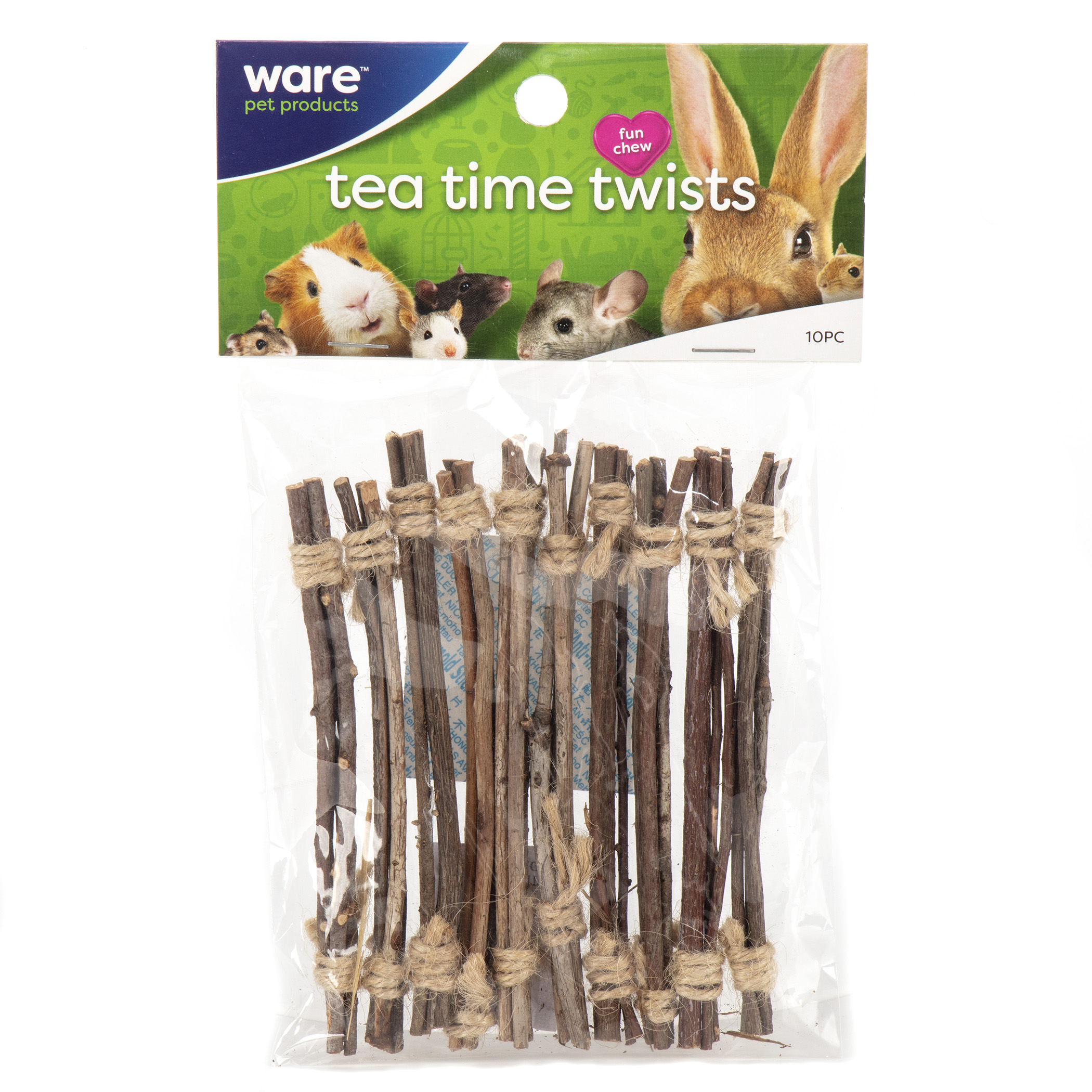 Ware Tea Time Twists, Tooth Trimming Twigs for Small Pets Image