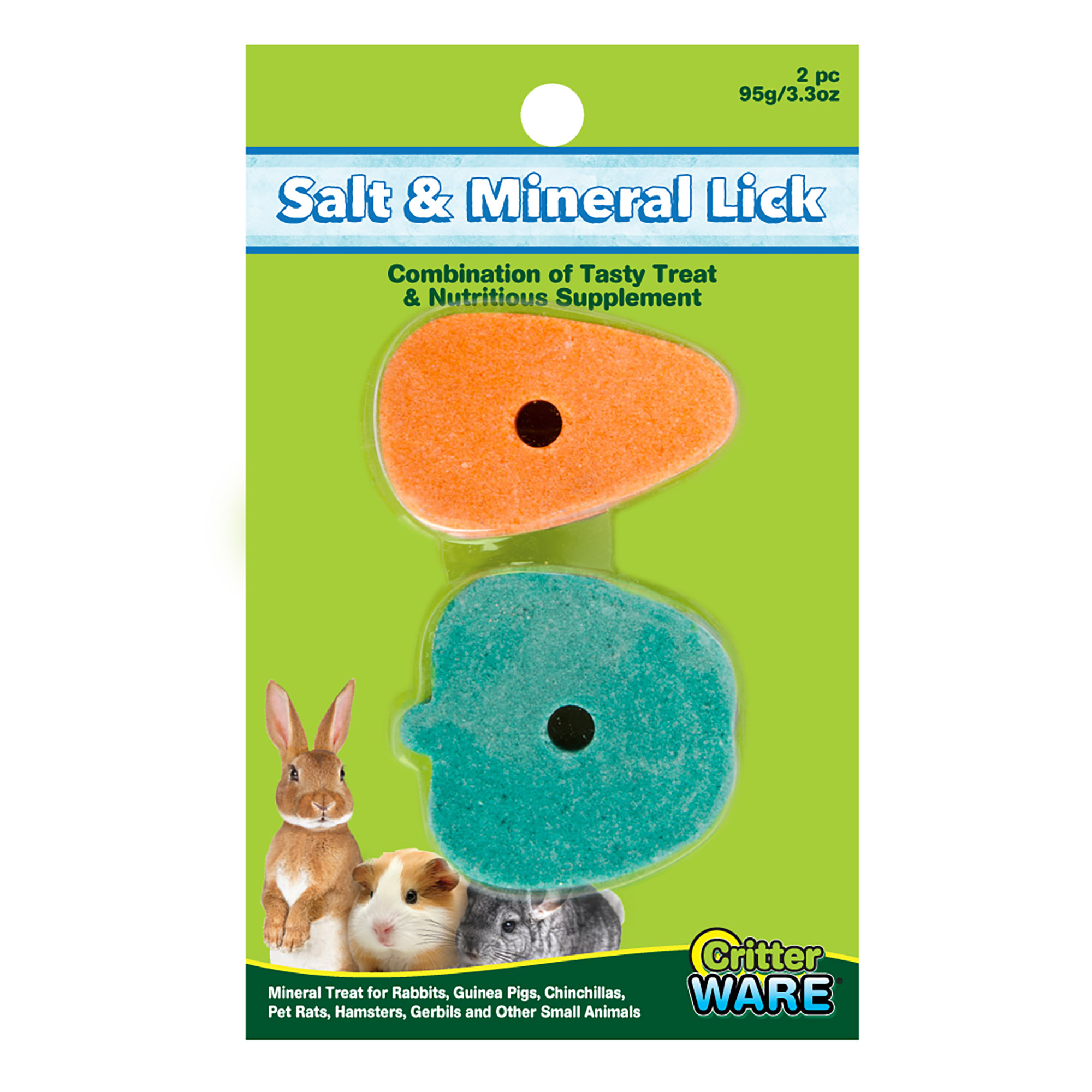 Ware Salt and Trace Mineral Lick, Small Pet Supplement