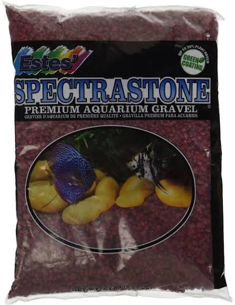Estes Special Gravel for Freshwater Aquariums, Red, 5-lb bag