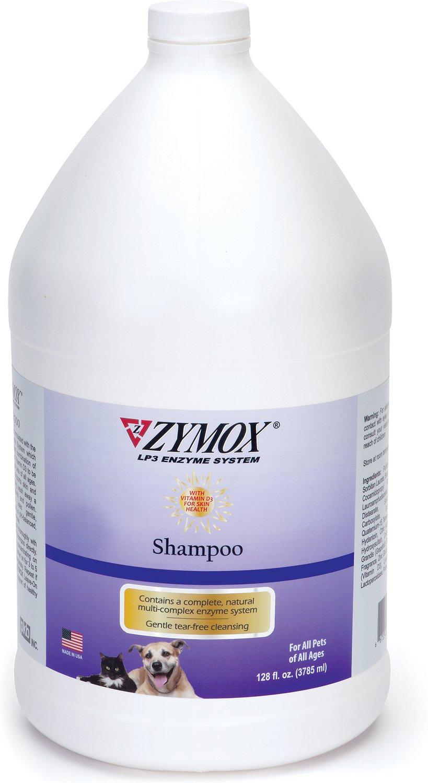 Zymox Shampoo For All Pets, 1-gal bottle