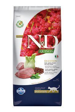 Farmina N&D Quinoa Digestion Lamb Dry Cat Food, 11-lb