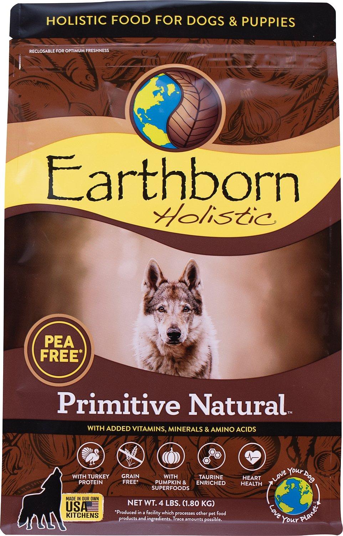 Earthborn Holistic Primitive Natural Grain-Free Natural Dry Dog Food, 25-lb bag