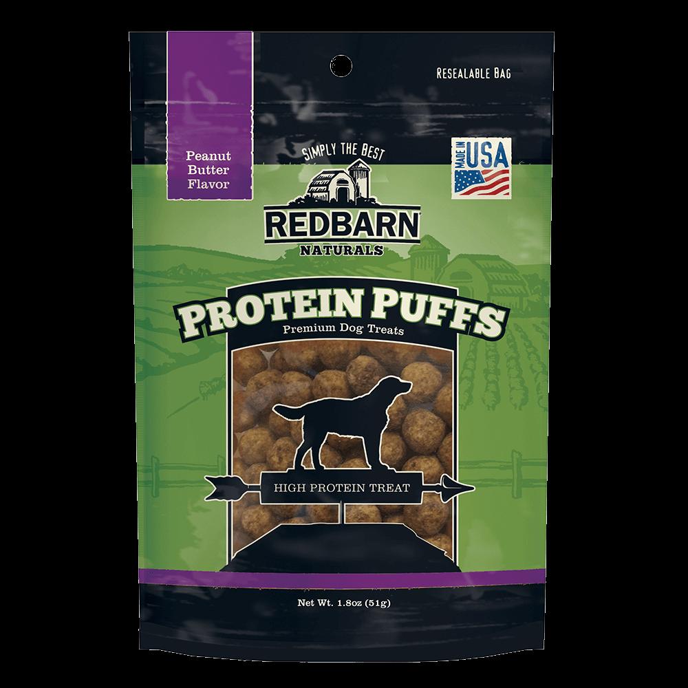Redbarn Protein Puff Peanut Butter Dog Treat