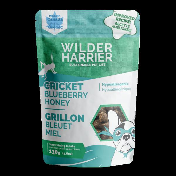 Wilder Harrier Cricket Blueberry Honey Hypo Training Dog Treats, 130-gm