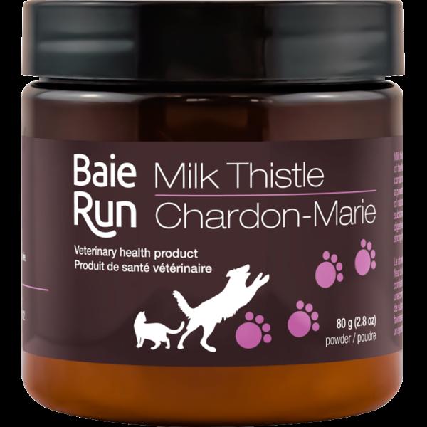 Baie Run Milk Thistle Cat & Dog Supplement, 80-gram