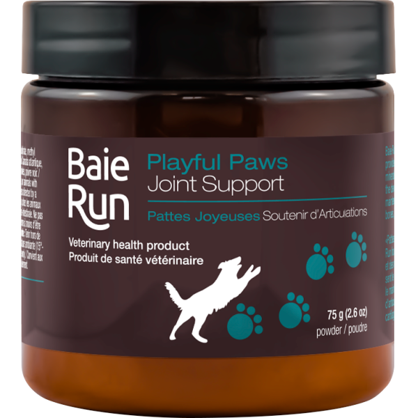 Baie Run Playful Paws Joint Support Dog Supplement, 75-gram (Size: 75-gram) Image