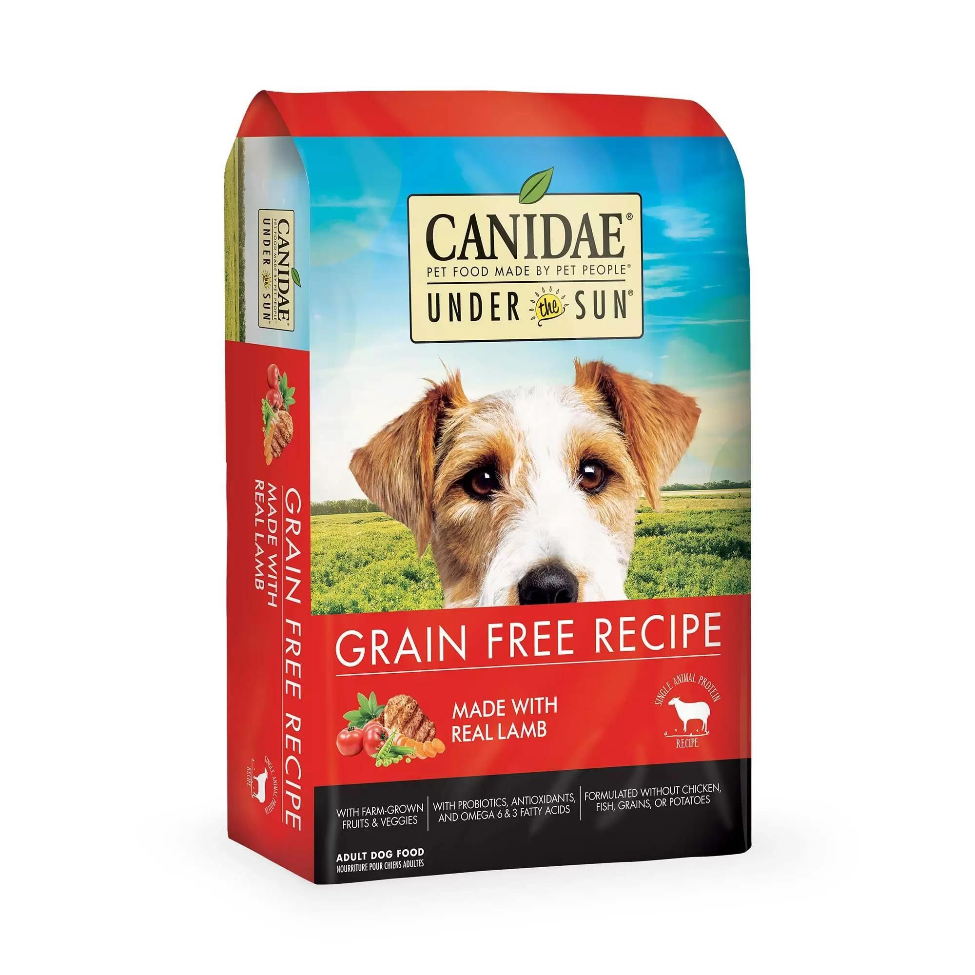 Under the Sun Grain-Free Lamb Recipe Adult Dry Dog Food, 23-lb