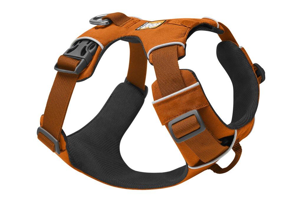 Ruffwear Front Range Dog Harness, Campfire Orange, Small (22-27-in)