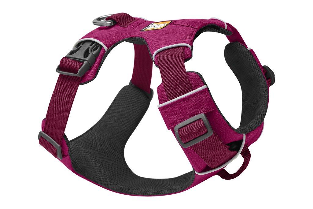 Ruffwear Front Range Dog Harness, Hibiscus Pink, XX-Small (13-17-in)