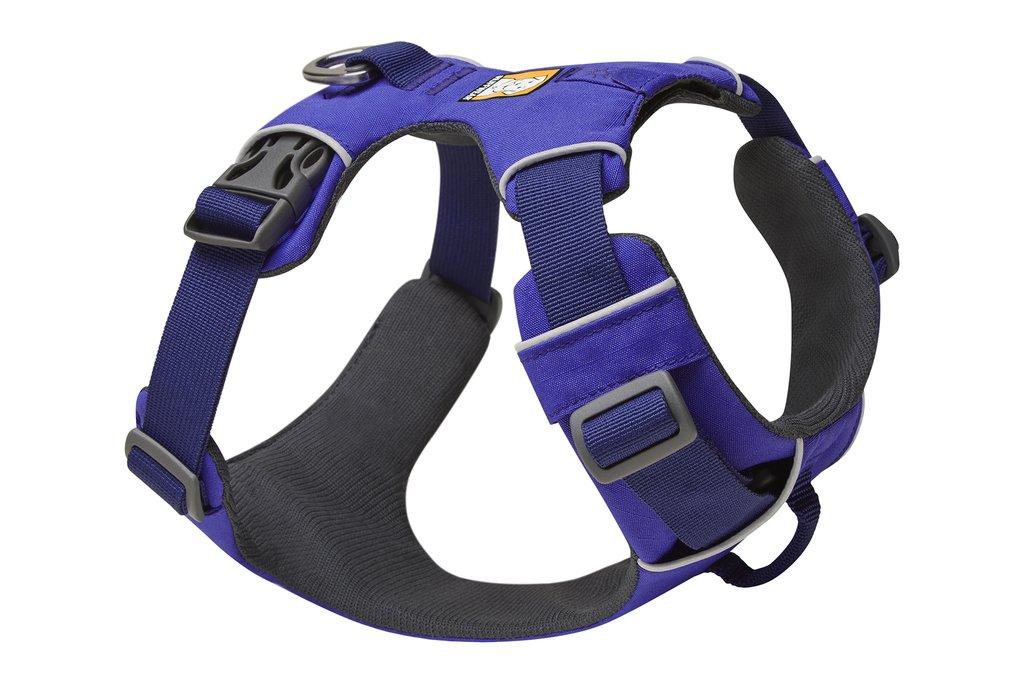 Ruffwear Front Range Dog Harness, Huckleberry Blue, X-Small (17-22-in)