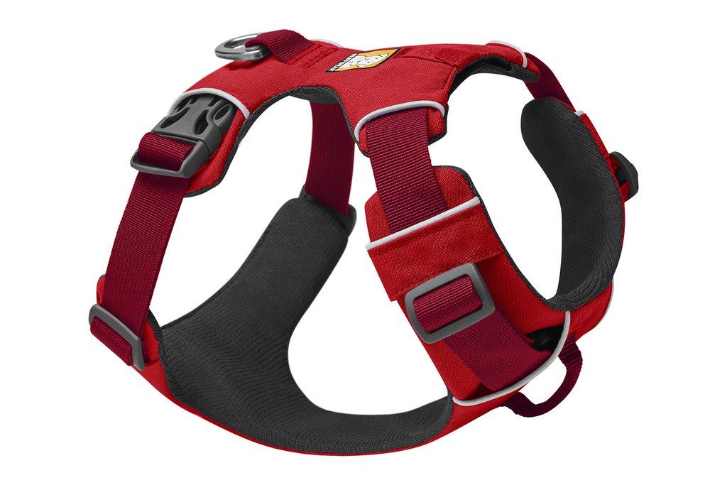 Ruffwear Front Range Dog Harness, Red Sumac, Medium (27-32-in)