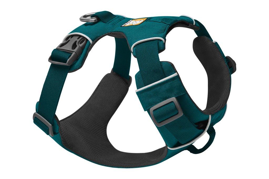 Ruffwear Front Range Dog Harness, Tumalo Teal, Small (22-27-in)