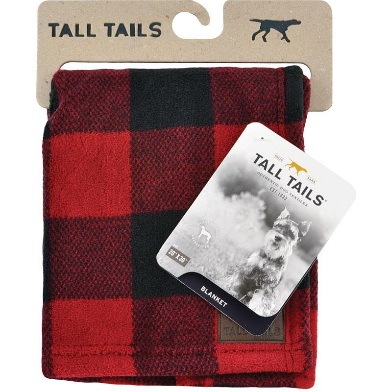 Tall Tails Dog Blanket, Hunter's Plaid, 20 x 30-in