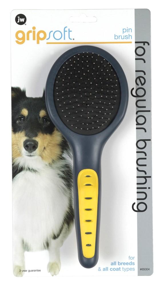 JW Pet Gripsoft Pin Brush