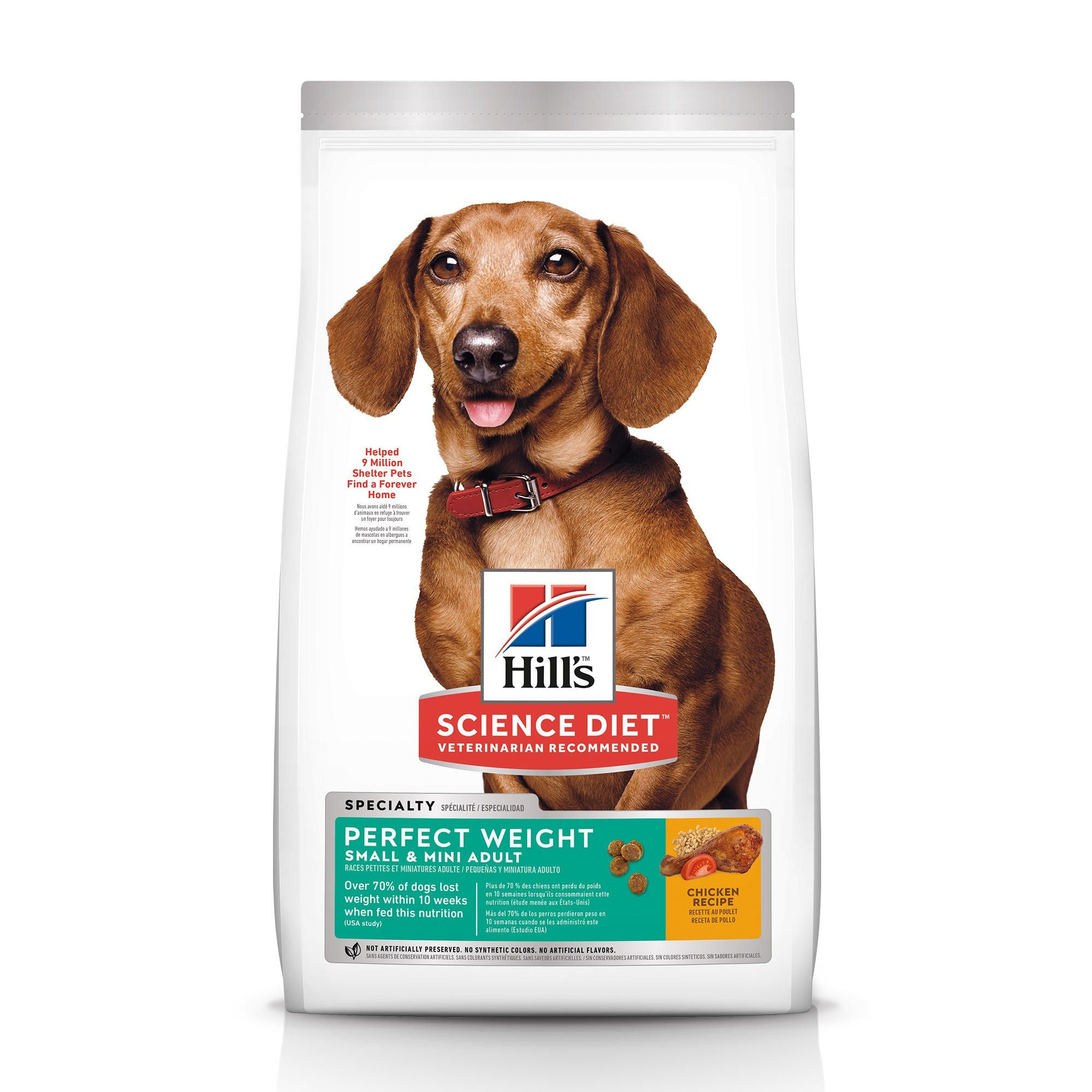 Hill's Science Diet Adult Small & Toy Breed Perfect Weight Dry Dog Food Image
