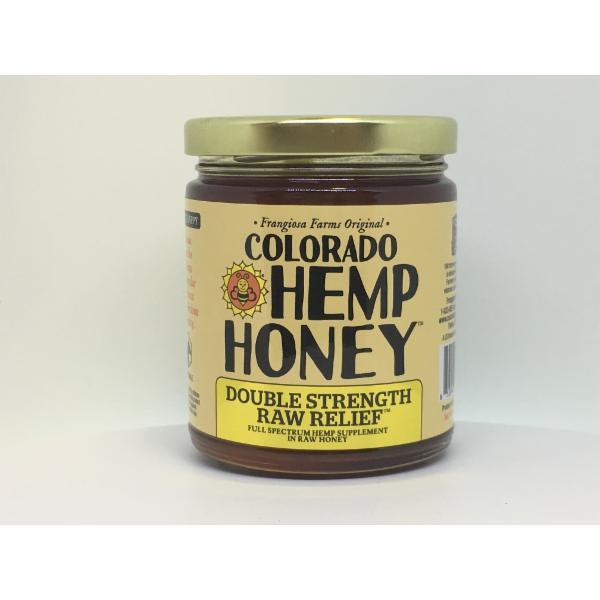 Colorado Honey Double Strength Raw Relief Alternative Supplement for Dogs, 12-oz