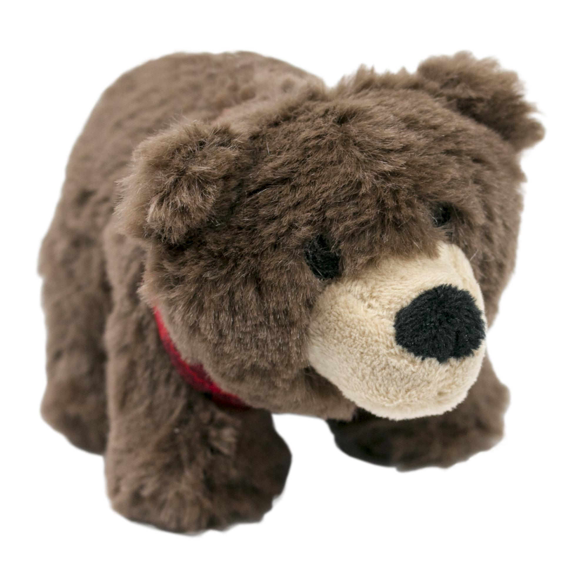 Tall Tails Bear with Squeaker Dog Toy, 5-in