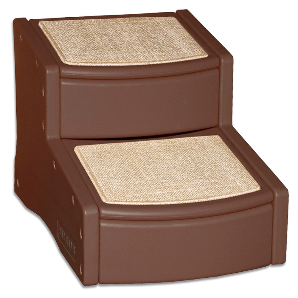 Pet Gear Easy Step II Pet Stair, Chocolate (Color: Chocolate) Image
