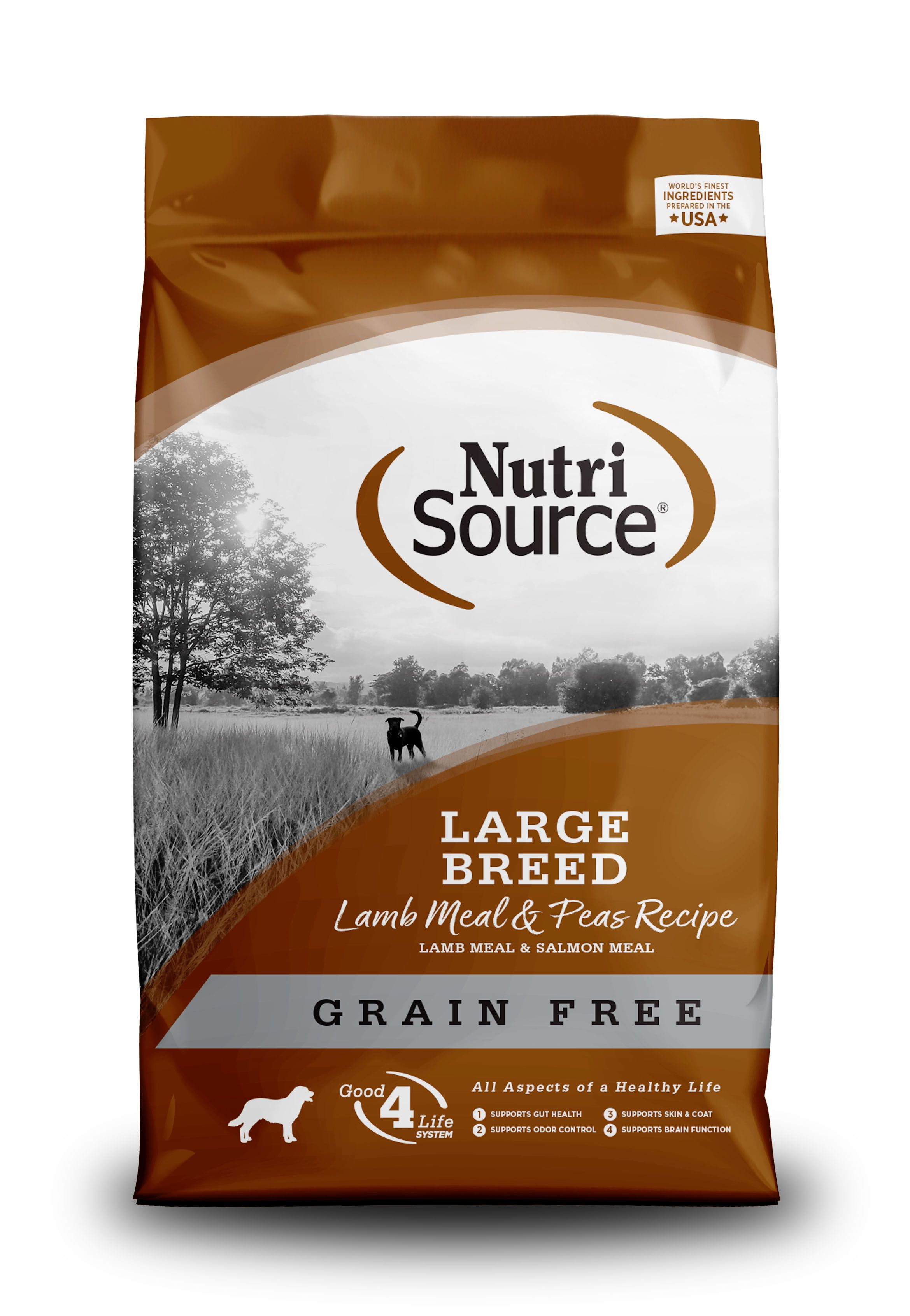 NutriSource Grain Free Large Breed Lamb Dry Dog Food Image