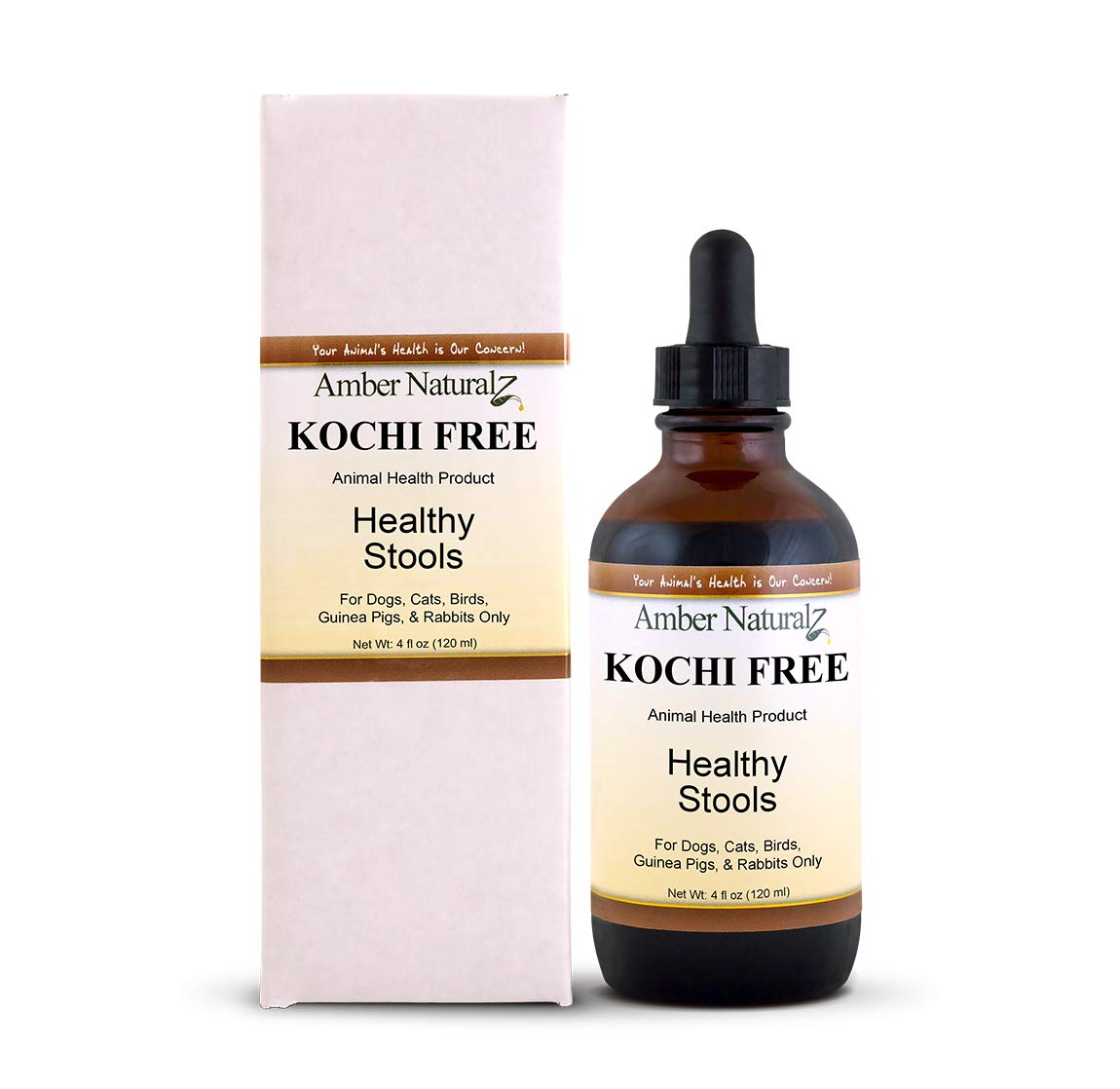 Amber Naturalz Kochi Free Pet Supplement, 1-oz